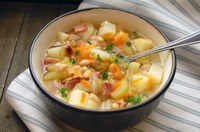 Warm your body and spirit with some nourishing soup. (NDSU photo)