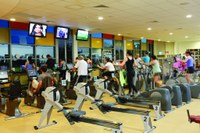 If you are starting an exercise program, be sure to talk with a health-care provider. Photo by UNE Sports.
