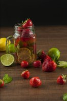 If plain water is kind of boring, try infusing it with fruit and/or herbs, (Photo courtesy of Nawalescape, Pixabay)