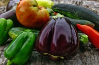 Vegetables such as eggplant can be grilled, roasted, fried, steamed and sauteed. (Photo courtesy of Pixabay)