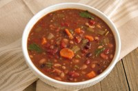 This bean soup recipe was done in about 40 minutes in a pressure cooker. (NDSU photo)