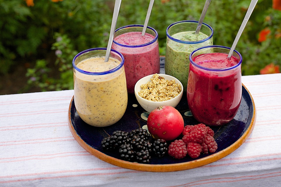 Try a smoothie with dairy and fruit during June, which is Dairy Month. (Photo courtesy of Pixabay)
