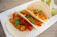 This recipe for one-pan chicken fajitas makes use of vegetables that are in season. (NDSU photo)