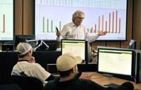 Commodity trading room - NDSU photo