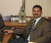 Venkataramana Chapara is the new Extension area crop protection specialist at the North Central Research Extension Center near Minot. (NDSU photo)