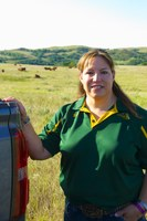 Lisa Pederson, NDSU Extension beef quality assurance specialist (Photo courtesy of Cattlemen's Beef Board)