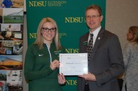 Amanda Lorenz, Bottineau County (NDSU Photo)