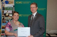Christa Scott, Renville County (NDSU Photo)