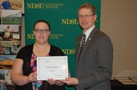 Cora Crane, Plant Sciences (NDSU Photo)