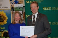 Cynthia Cross, North Central Research Extension Center (NDSU Photo)