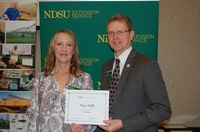 Kris Holt, Assistant Director's Office, Family and Community Wellness (NDSU Photo)