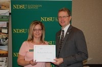 Paulann Haakenson, Agribusiness and Applied Economics (NDSU Photo)