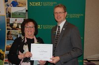 Sandy LeTexier, Pembina County (NDSU Photo)