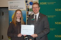 Sara Schuchard-McGregor, Langdon Research Extension Center (NDSU Photo)