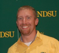 Andrew Friskop receives the Excellence in Extension Early Career Award. (NDSU photo)