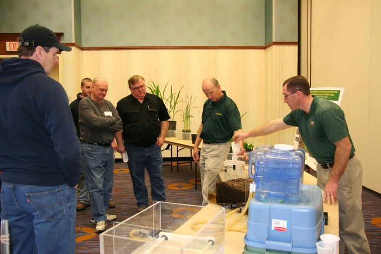 Hands-on demonstrations are planned at all of the Best of the Best meetings. (NDSU Photo)