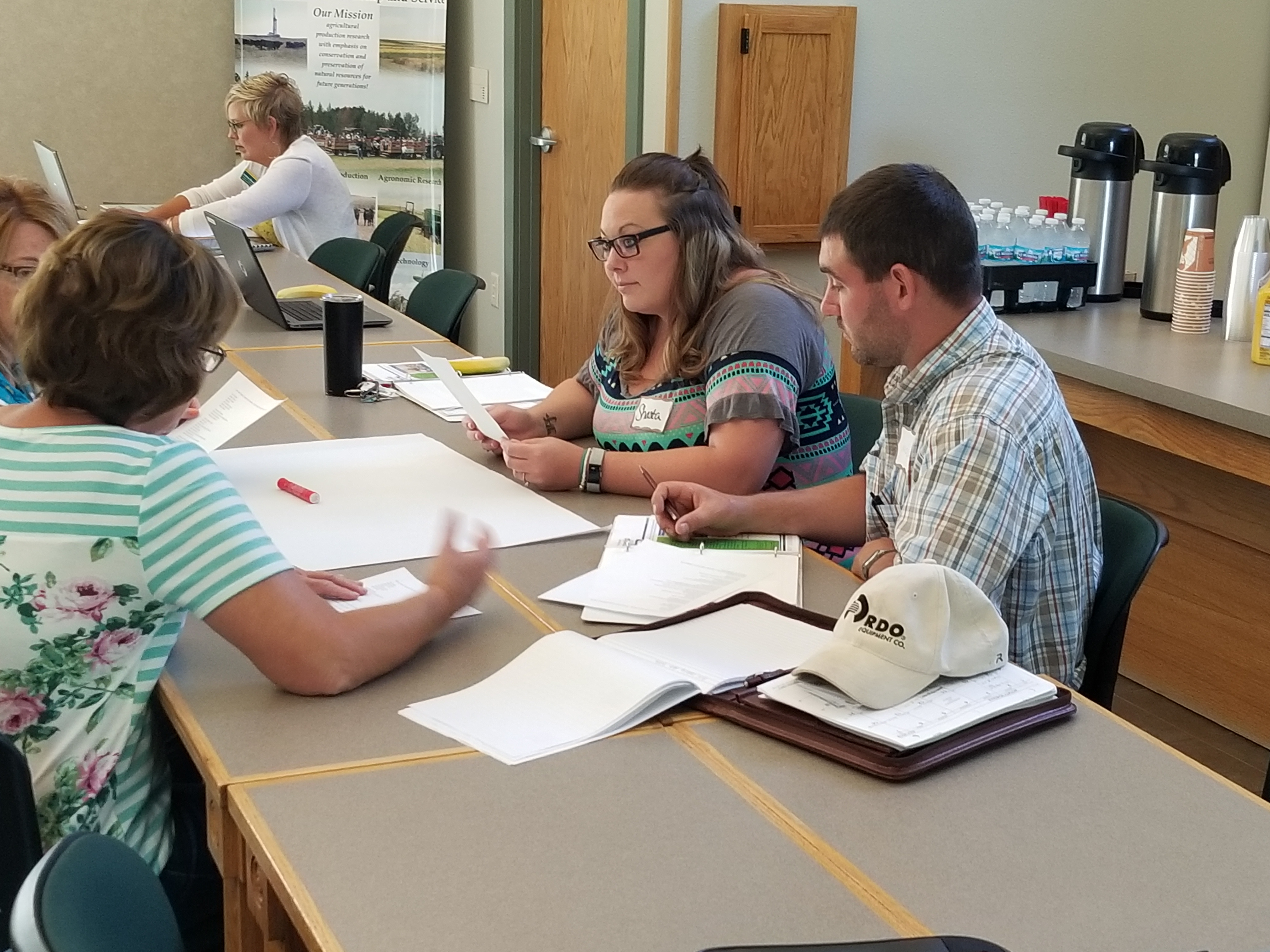 NDSU Extension's North Dakota Soil and Water Conservation Leadership Academy helps participants learn how to lead soil conservation, watershed and community-based projects aimed at protecting water quality for future generations. (NDSU photo)