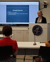 Kaitlyn Joerger, Mayville, shared bullying information with the Department of Health and Human Services' Health Resources and Services Administration.