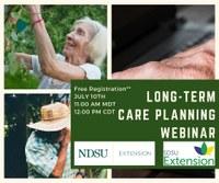 Long-term Care Planning Webinar