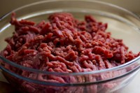 Ground beef has been associated with several large outbreaks of foodborne illness. (Photo courtesy of Pixabay)