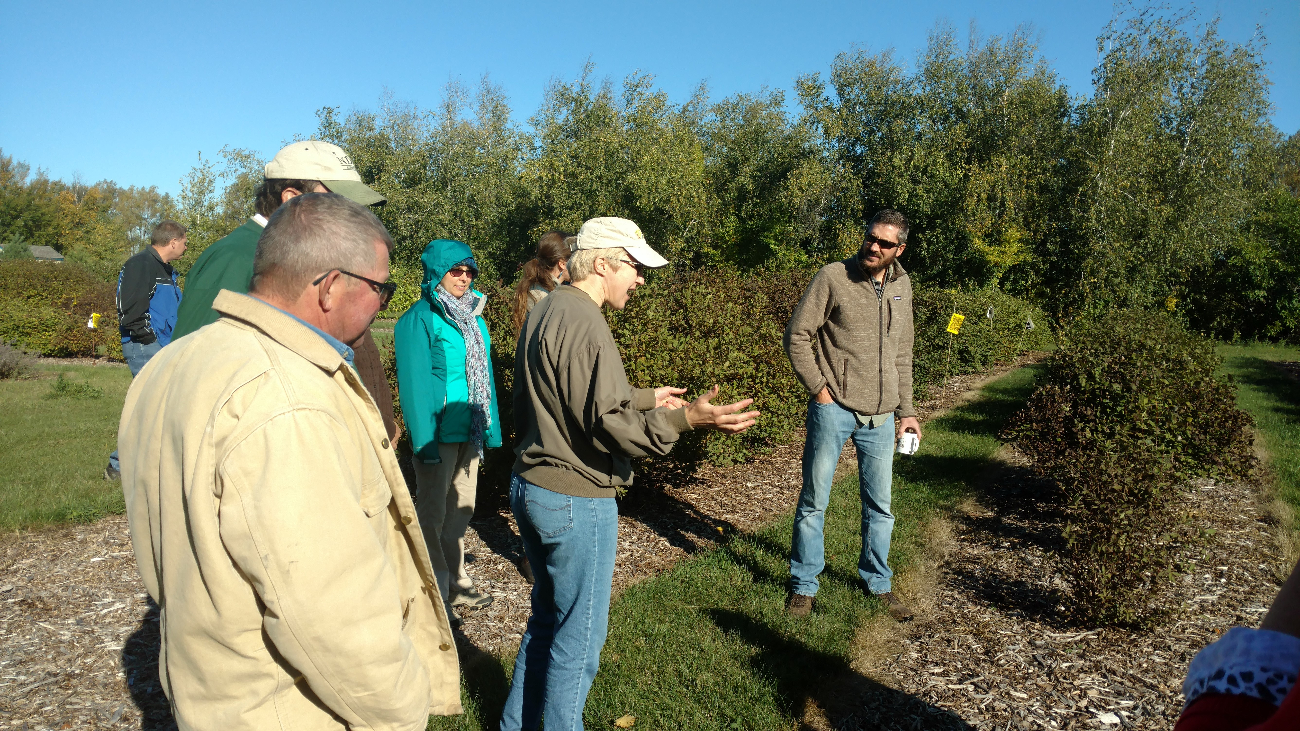 Producers hear results from on-farm SARE projects in North Dakota. (NDSU photo)