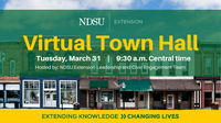 NDSU Extension to Host Virtual Town Hall Meeting in Response to COVID-19 (NDSU photo)