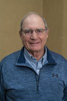 Douglas Landblom, Dickinson Research Extension Center, is honored for 45 years of service. (NDSU photo)