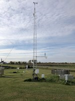 This NDAWN station is southwest of Fargo. (NDSU photo)