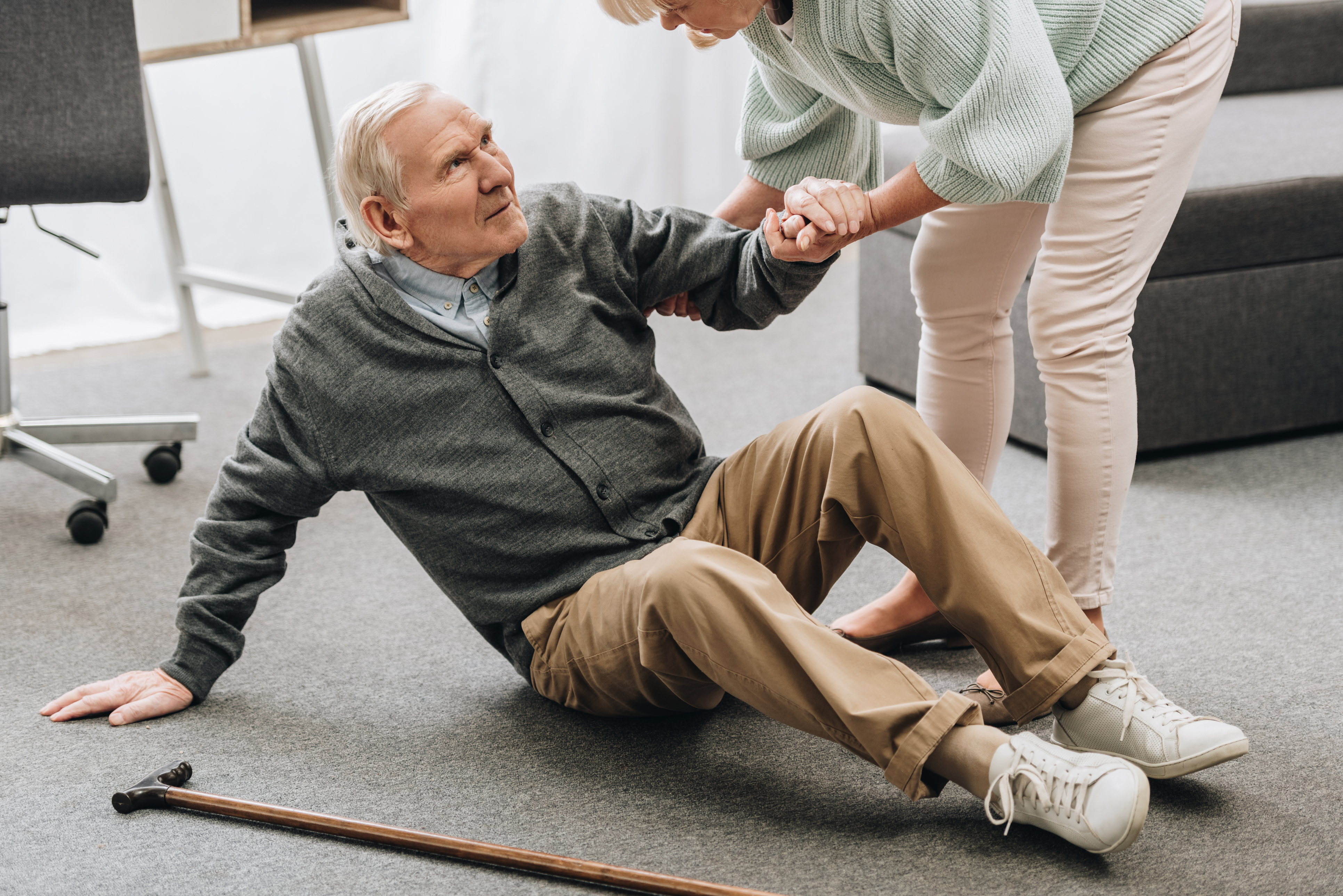 One in four Americans aged 65 and older fall each year. (iStock photo)