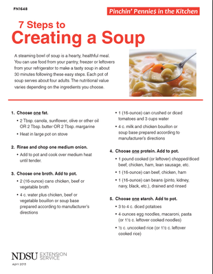 7 Steps to Creating a Soup