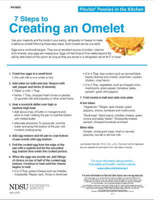 7 Steps to Creating an Omelet
