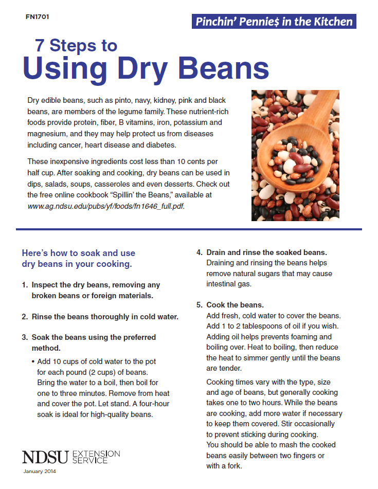 7 Steps to Using Dry Beans