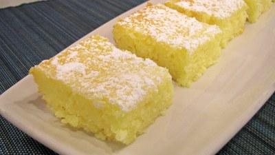 2-ingredient Lemon Bars