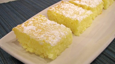 2-ingredient Lemon Bars