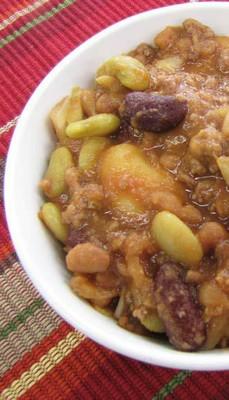 Cowboy Crockpot Baked Beans