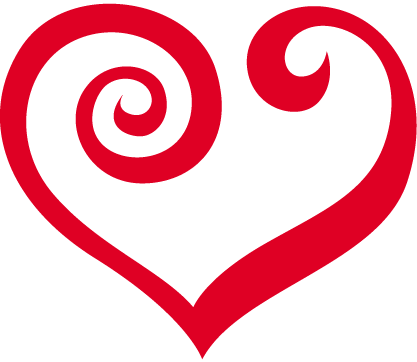 red heart graphic