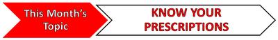 Topic Banner - Prescriptions
