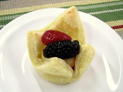Vanilla Fruit Tarts