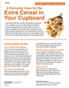 Cereal in Your Cupboard