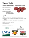 Tater Talk: Fresh Potato Results 2019