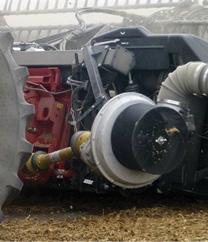 Combine head engine