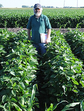 Resistant soybeans.