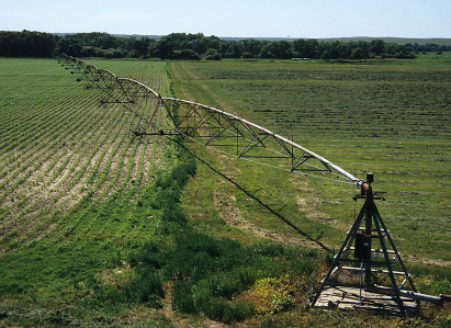 Center pivot photo