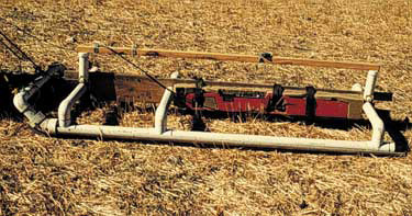 EM-38 used on a PVC sled near Valley City ND