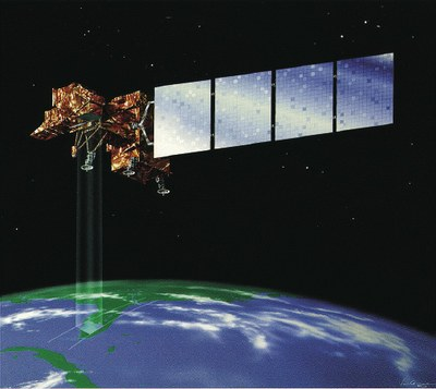 Landsat 7 satellite