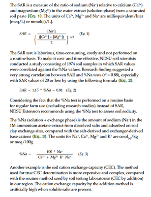 SAR measure of ratio 2