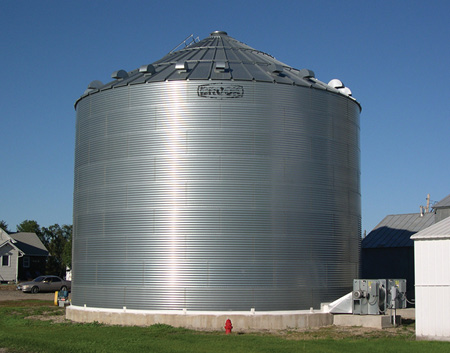 grain storage structure