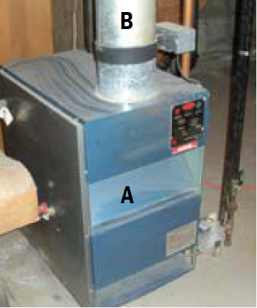 Draft inverter furnace