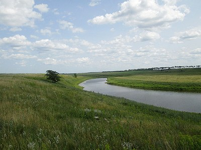 Stream in eastern ND with perennial flow
