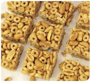 Honey-Peanut Cereal Bars